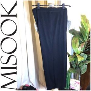 Misook Crop Leg Knit Pants